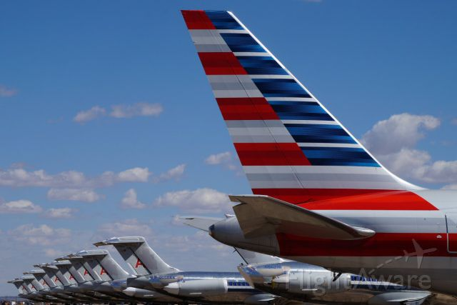 — — - Retired from the AA fleet... stored in ROW