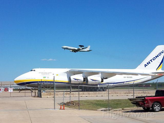 Antonov An-12 (UR-82029) - AN-124 and AWAC at KTUL
