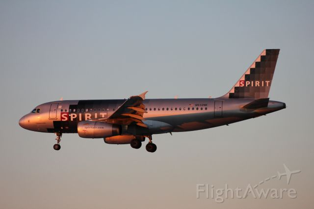 Airbus A319 (N532NK) - Flight 270<br />KFLL to KBWI<br />9/11/15