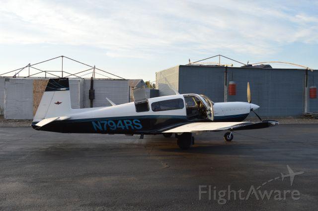 Mooney M-20 Turbo (N794RS)