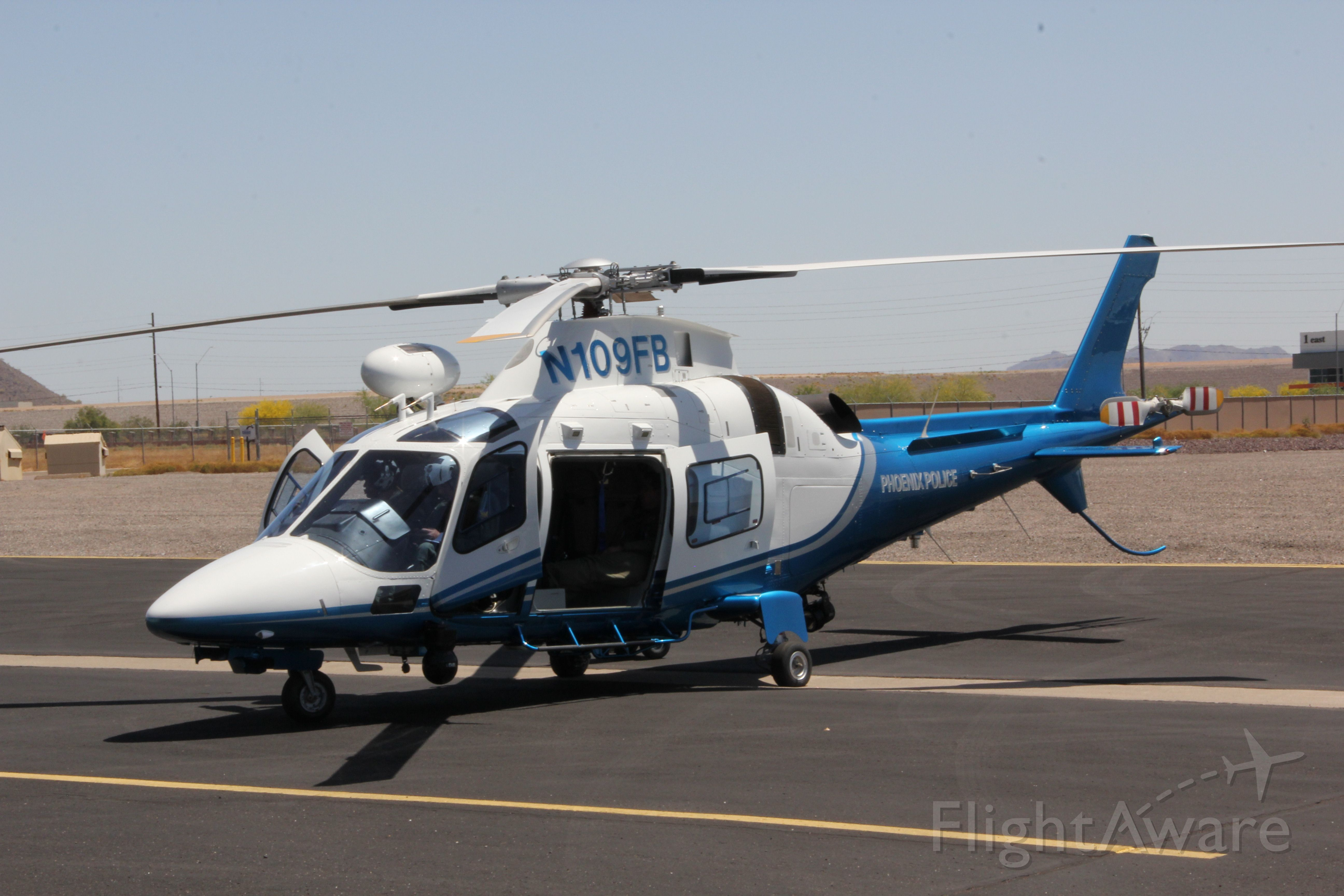SABCA A-109 (N109FB) - New Paint Job!!!