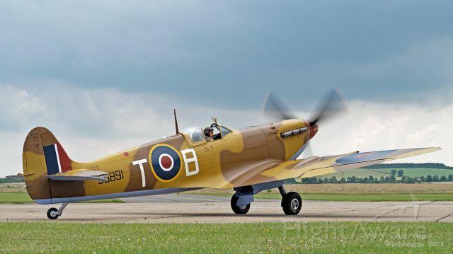 SUPERMARINE Spitfire (G-LFVC) - Spitfire Vc : JG891 / G-LFVCat Duxford on July 9th 2021