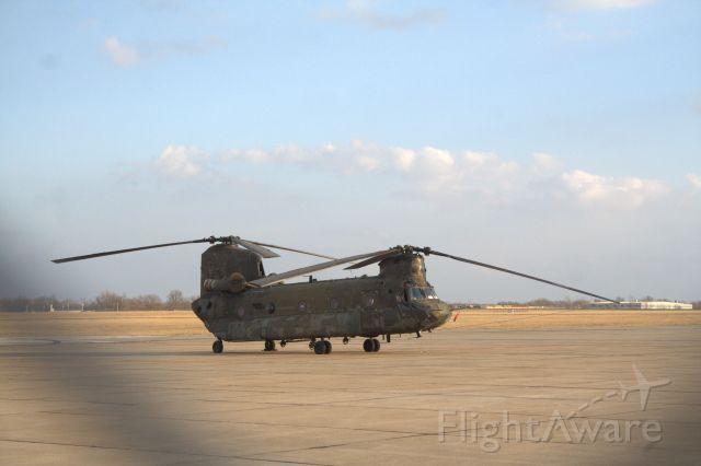 — — - A CH-47 Chinook at Joplin,MO on Feb. 20, 2016.