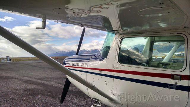 Cessna 152 (N69258) - On the ramp in Stevensville