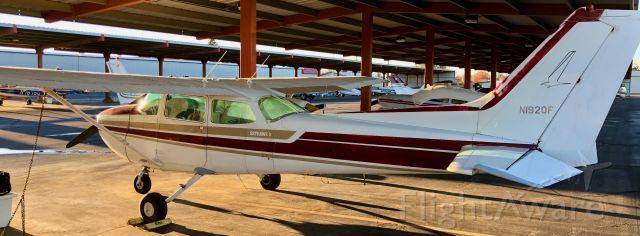 Cessna Skyhawk (N1920F) - N1920F on ground at KSAC ramp December, 2017
