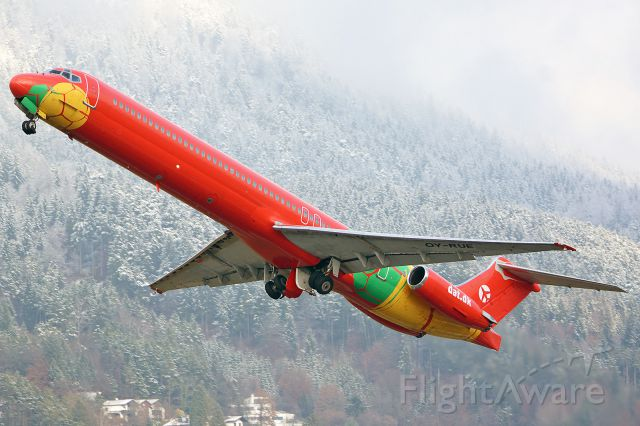 McDonnell Douglas MD-83 (OY-RUE)