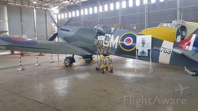 — — - Spitfire MK IX C
