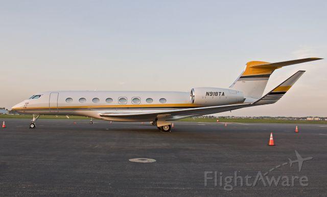Gulfstream Aerospace Gulfstream G650 (N918TA)