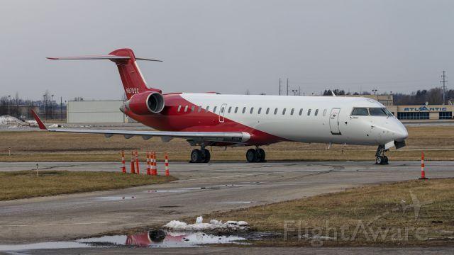 Canadair Regional Jet CRJ-700 (N870DC) - A very sharp looking CRJ7 sits on a side  taxi way at KSBN.