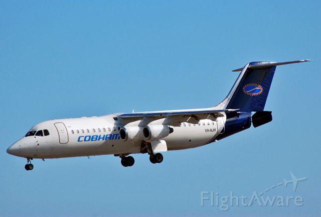 Avro RJ-100 Avroliner (VH-NJH) - NATIONAL JET EXPRESS - BRITISH AEROSPACE AVRO 146-RJ100 - REG VH-NJH (CN E3301) - ADELAIDE INTERNATIONAL AIRPORT SA. AUSTRALIA - YPAD (11/1/2015)