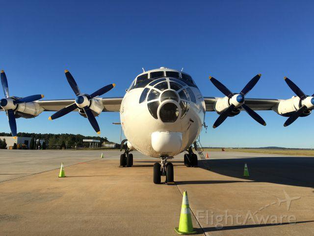 Antonov An-12 (UR-CKM) - Navigator nose section.