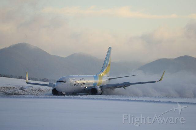 Boeing 737-700 (JA11AN) - January 2nd 2019:HND-HKD.