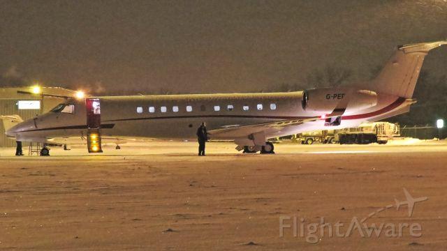 Embraer ERJ-135 (G-PEPI) - British registered Legacy on Christmas night at RFD