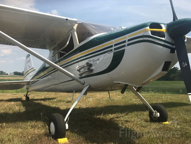 Cessna 170 (N3498C) - Just one of the beautiful aircraft that flew in for the eclipse on the 21st. Thanks to all the pilots that chose to visit Marion, 5M9, it was a thrill to see so many amazing planes at our little airport!