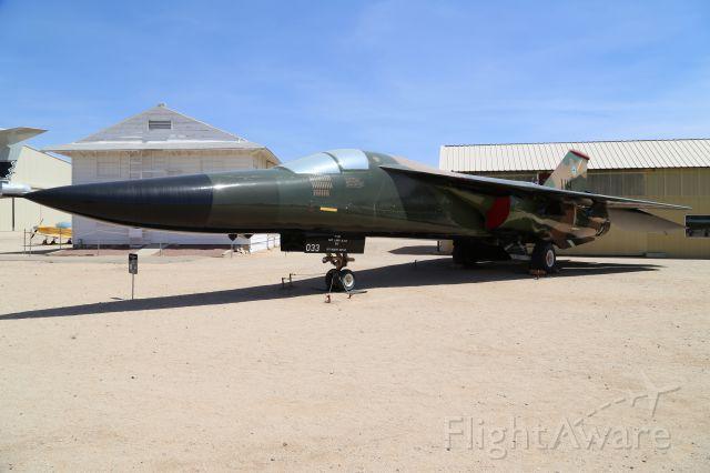 Grumman EF-111 Raven (68-0033) - General Dynamics F-111E Aardvark at Pima Air and Space Museum, Tucson, AZ, 17 May 14.