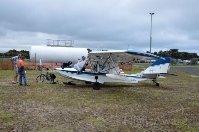 PROGRESSIVE AERODYNE SeaRey (VH-SEY) - Searey LSX at Flinders Island, Feb 2020