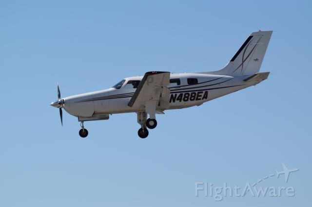 Piper Malibu Mirage (N488EA) - Piper Landing in Burbank