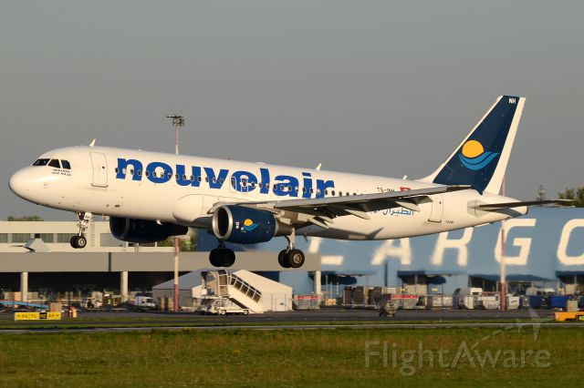 Airbus A320 (TS-INH)