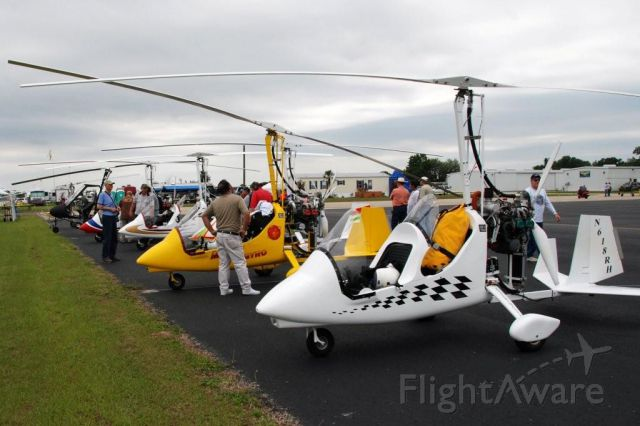 Unknown/Generic Ultralight autogyro (N216MG) - Magni gyroplanes on the ramp at Bensen Days 2009