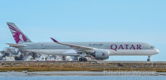 Airbus A350-900 (A7-ALI) - Shot with a Nikon D3200 w/ Nikkor 70-300mm<br />Best viewed in Full Size