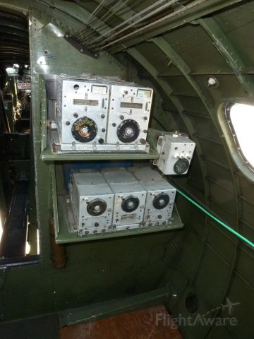 — — - Famous 'arc-5' radios used in WW2, each tuned to a different frequency