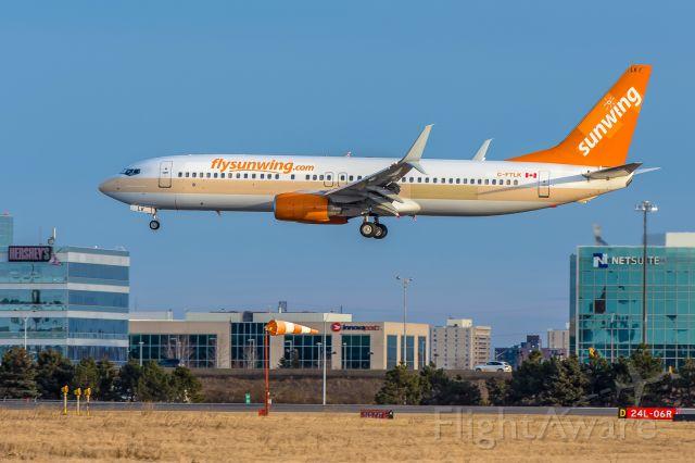 Boeing 737-800 (C-FTLK) - Sunwing 738 C-FTLK