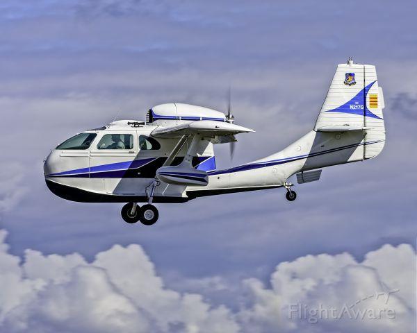REPUBLIC Seabee (N217G) - Republic Seabee N217G approach for landing at Arlington Airport near Seattle, WA