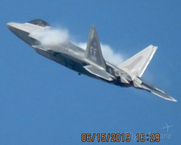 Lockheed F-22 Raptor (08-4166)