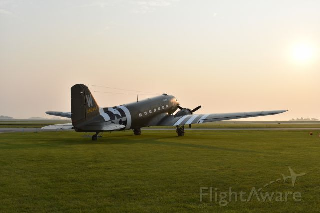 "Douglas DC-3 (N47TB) - ""That's All, Brother!"" visiting Mason City, July 2021."