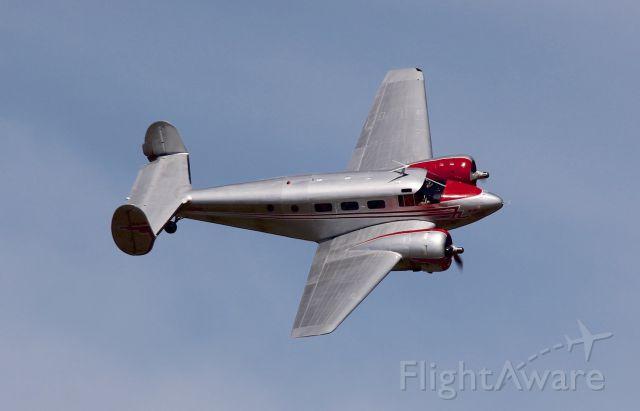 Beechcraft 18 (VH-BHS) - Beechcraft 18-3TM<br />Manufactured in 1952, USA<br />Photo: 25.03.2018