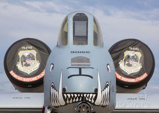 Fairchild-Republic Thunderbolt 2 — - 2015 Tinker AFB