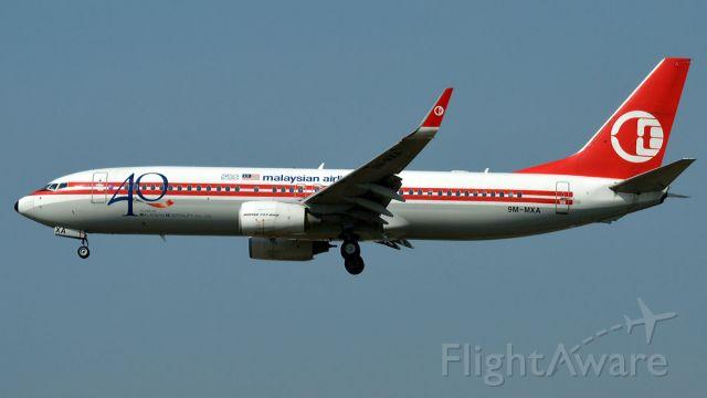 Boeing 737-800 (9M-MXA)