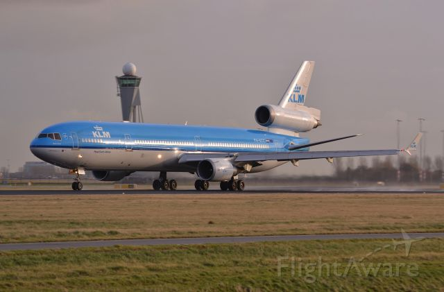 Boeing MD-11 (PH-KCC) - polderbaan