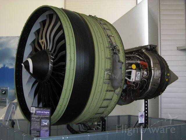 Boeing 787-8 — - GE90 787 Engine