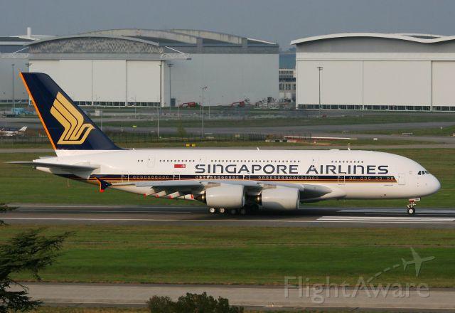 Airbus A380-800 (9V-SKQ) - Airbus A380-841, Toulouse Blagnac Airport (LFBO-TLS)