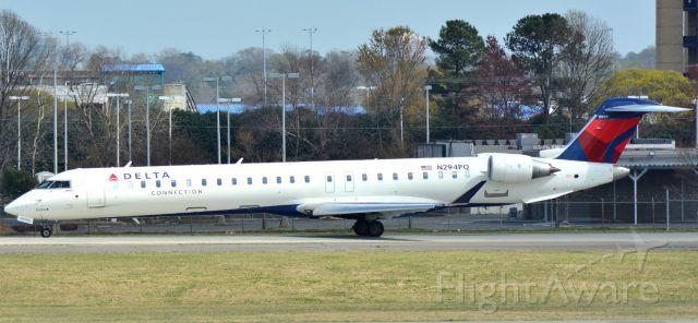 Canadair Regional Jet CRJ-900 (N294PQ) - 3/13/16