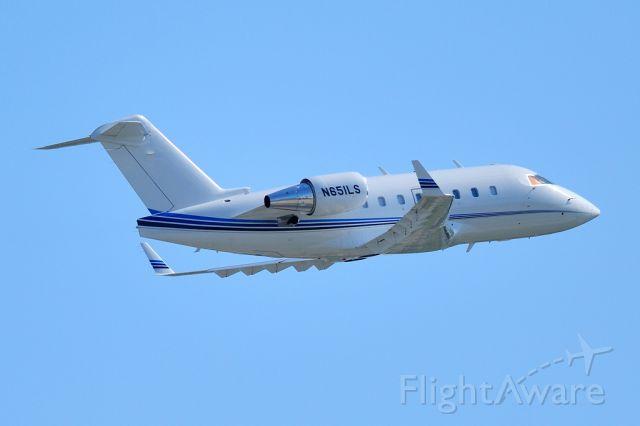 Canadair Challenger (N651LS) - Inflight