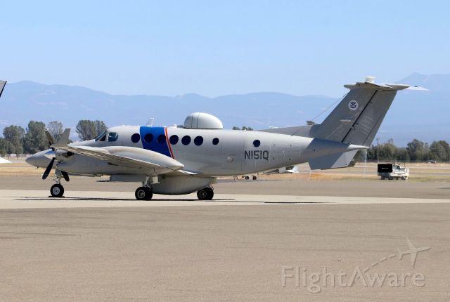 Cessna Chancellor (N151Q) - KRDD - US Dept of Homeland Security on a rare appearance at Redding. I