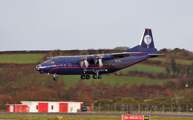 Antonov An-12 (UR-CZZ) - ukl an-12bp ur-czz landing at shannon 9/12/18.