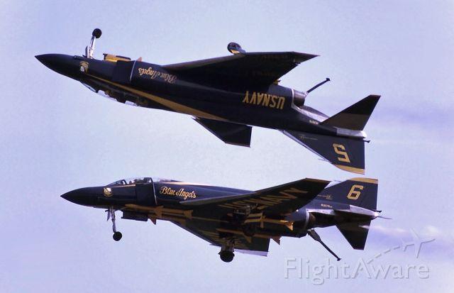 — — - Blue Angels F-4 Phantom