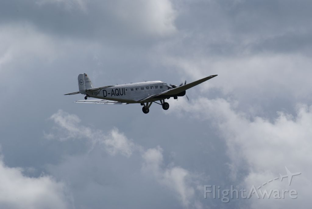 D-AQUI — - Flying Legends airshow at Duxford 01 July 12