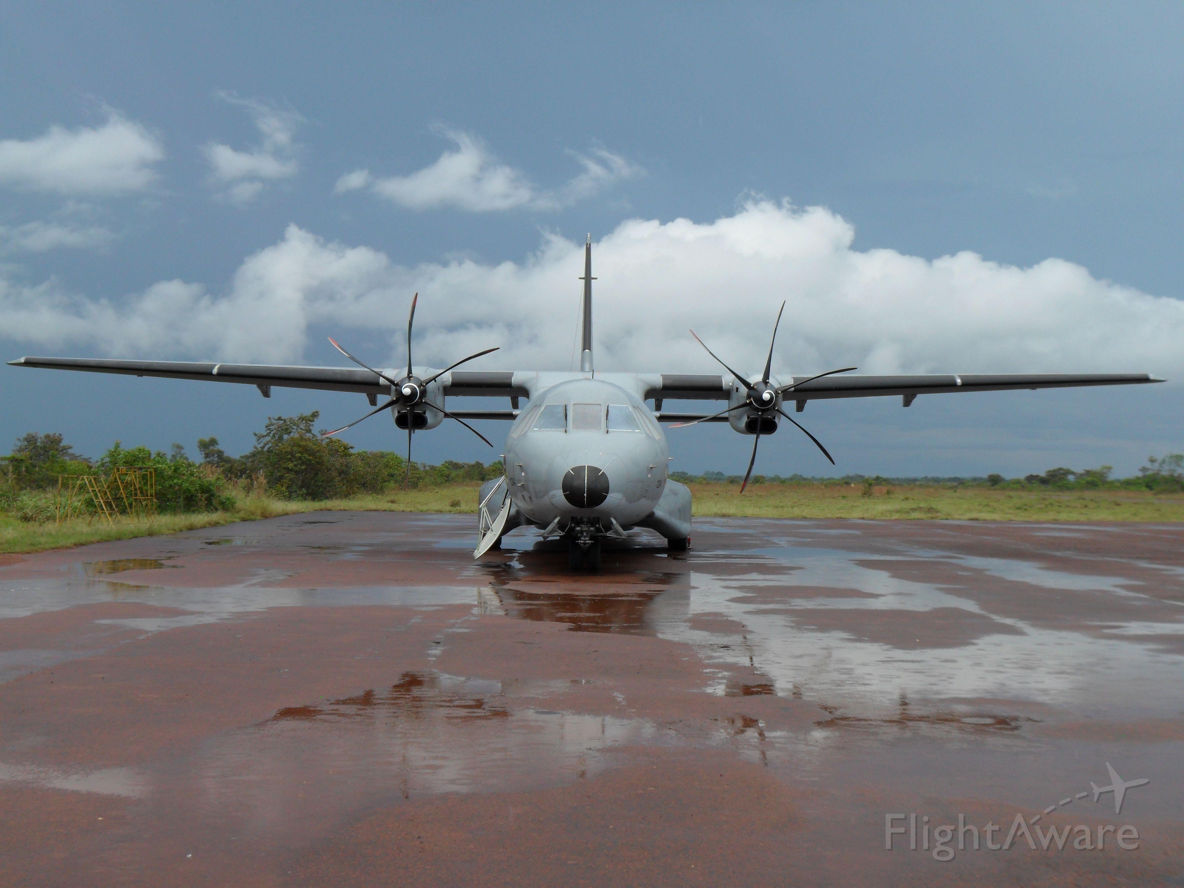 "Casa C-295 Persuader (FAC1284) - Casa C-295M ""Titán"". Colombian Air Force"