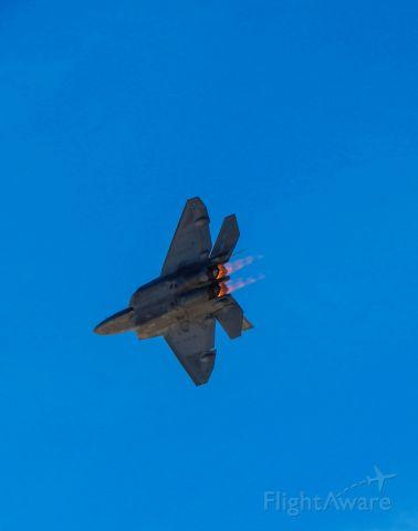 Lockheed F-22 Raptor — - Nellis Airshow 2015