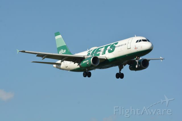 Airbus A320 (N746JB) - From Gravelly Point