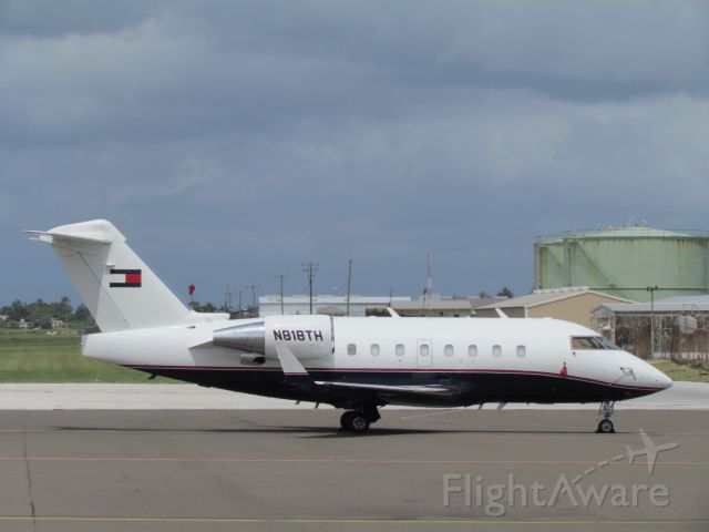 Canadair Challenger (NN818TH) - Tommy Hilfihger corporate aircraft.