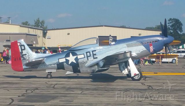 North American P-51 Mustang — - P-51, Thunder Over Michigan 2017.