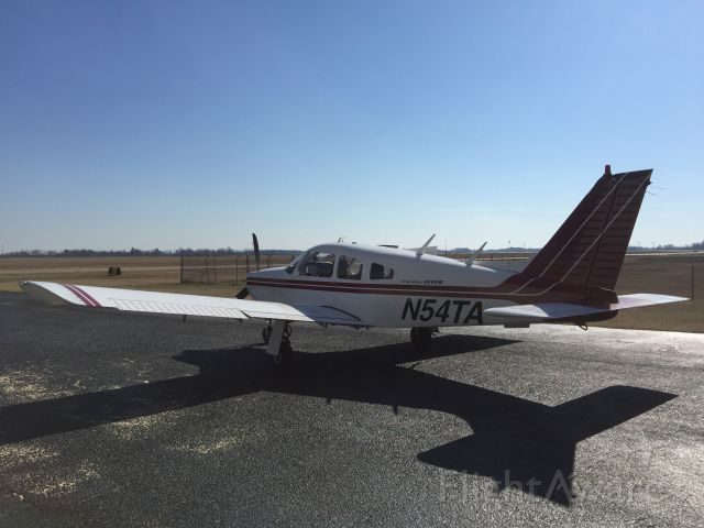 Piper Cherokee Arrow (N54TA) - Just after purchasing the aircraft in January of 2015