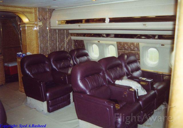 BOEING 767-200 (N767KS) - SERVANTS SEATING ON THIS EXTRAVAGANT B767-200ER