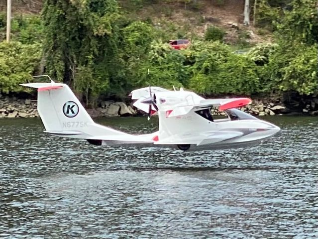 ICON A5 (N677SK) - Water landing in CT