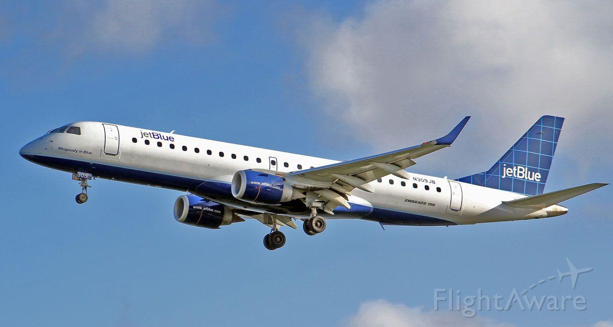 Embraer ERJ-190 (N309JB)